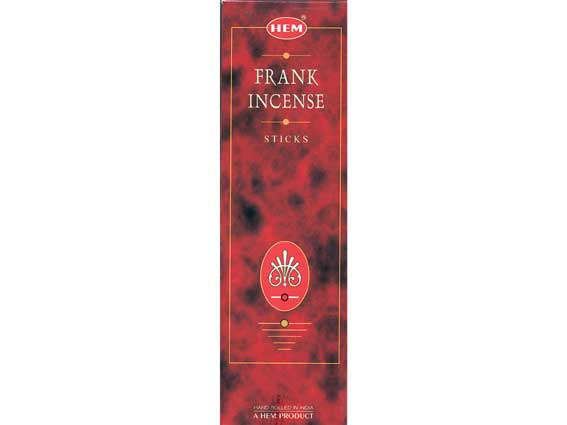 Frankincense Hem Incense 25x8g
